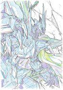 ASW-G-35 Gundam Marchosias cel concept art