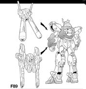 Gundam f89 b