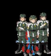 Gundam info Character Sheet Chen Jian Yi, Malik Yardbirds, Burt Heim