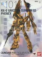 GFFMC 1014 Unicorn Gundam 03 Phenex box