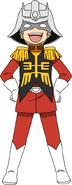 Gundam-san Character 1