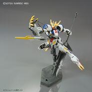 ASW-G-08 Gundam Barbatos Lupus Rex (Gunpla 1-144) (Front With Ultra Large Mace) 01