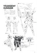 Transient Gundam Lineart