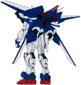 Speculum Raigo Gundam (Rear)