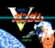 Mobile Suit V Gundam (Super Famicon) 001