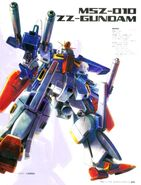 ZZ Gundam Illustration 1