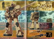 MS-05L Zaku I Sniper Type - SpecTechDetailDesign