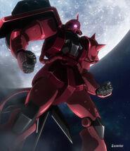 MS-06BR Ballistic Zaku (Battlogue 01) 03