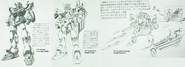 F91 Gundam F91 Rough Initial Designs