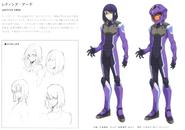 Gundam 00 Festival 10 Revision Laetitia Erde CS