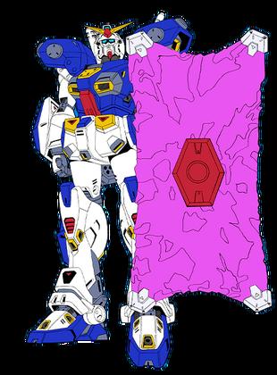 Front (Mega Beam Shield deployed)