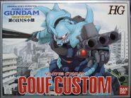 Gunpla HG GoufCustom box