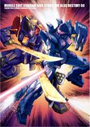 Mobile Suit Gundam Side Story The Blue Destiny vol. 6 scan