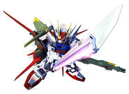 SD Gundam G Generation Crossrays Gundam Perfect Strike