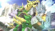 Tigerwolf & Gundam Jiyan Altron