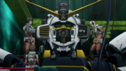Atlas Gundam head open