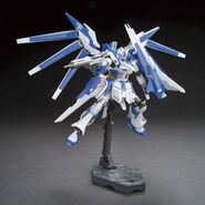 RX-93-ν2V Hi-ν Gundam Vrabe (Gunpla) (Action Pose)