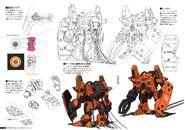 Gundam The Origin Mechanical Work 1st Vol model 01 early type B