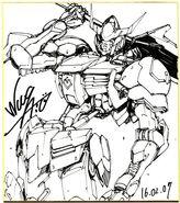 Gundam Barbatos by Naohiro Washio 03