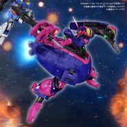 HGUC Baund Doc with HGUC Zeta Gundam Revive