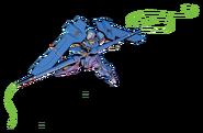 MSAM-YM03 Montero (Gundam Extreme VS. 2)