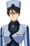 Super Robot Wars T Character Face Portrait 581