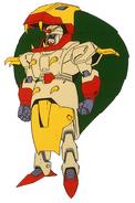 GF13-030NIN Cobra Gundam Front