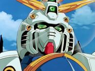 God Gundam Head Close-up