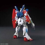 SB-011 Star Burning Gundam (Gunpla) (Rear)