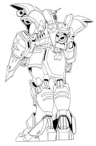 how to draw gundam easy