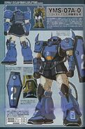 YMS-07A-O Prototype Gouf (Ramba Ral colors)