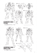 Gundam AGE-1 Titus and Spallow