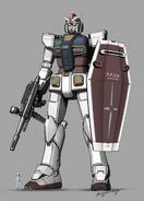 RX-78-2 Gundam Redesign by Ken Okuyama