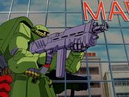 Zaku II Kai B firing