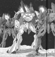 Turn A Gundam Manga Tokita turn x and bandits