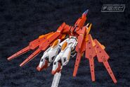 BN-876β Hot Scramble Gundam (Gunpla) (Rear Flight Mode)