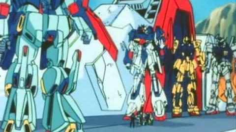 170 MSN-00100 Hyaku Shiki (from Mobile Suit Gundam ZZ)
