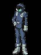 G Gen Genesis Custom Character (Male Londo Bell Pilot)