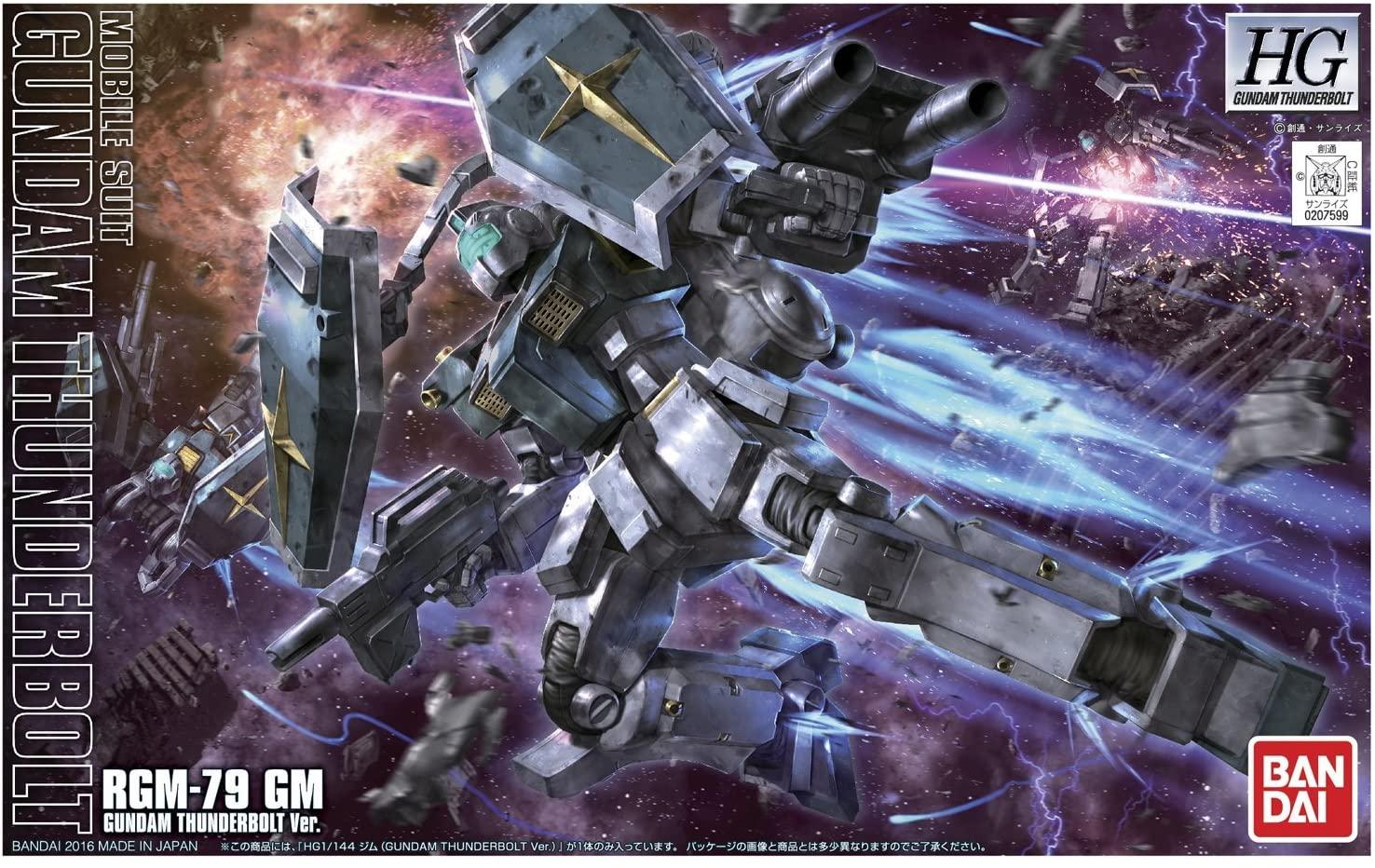 GS RX-89 Gundam Ground Type-S Thunderbolt GUNPLA HG High Grade 1//144 BANDAI