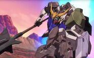 Gundam Barbatos Attack