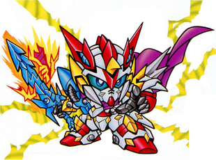 Devil Dragon Knight Zero Gundam