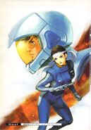 Gundam Chars Counterattack - High Streamer RAW Novel V01-002
