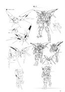 Gundam Exia Dark Matter Lineart 2