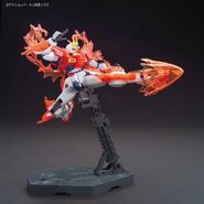 TBG-011B Try Burning Gundam (Gunpla) (With Burning Burst System Activated Action Pose 2)