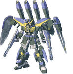 GAT-X131B Blau Calamity Gundam (Front)