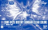 HGCE Destiny Gundam -Clear Color-