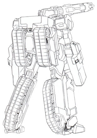 Rear (Mega Machine Cannon Type)