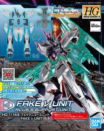 HG Gundam Build Divers RE:Rise 027 Gundam Try Age Magnum 1//144 model kit Bandai