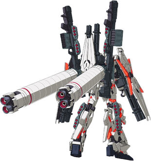 Rear (Destroy Mode Red Color Ver.)