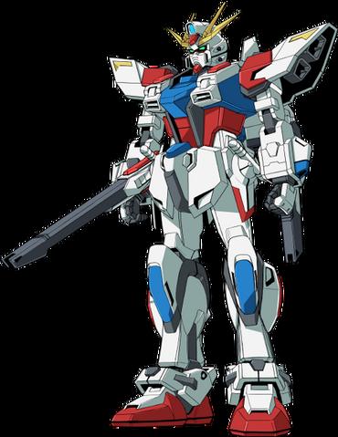 File:GAT-X105BST Star Build Strike Gundam - Front.png